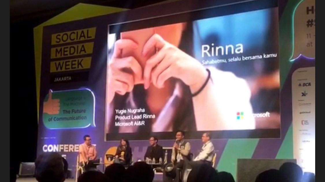 Microsoft dan LINE Bawa Chatbot Rinna ke Indonesia